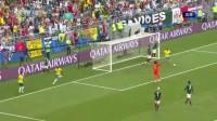 我在【进球】巴西前场快速推进 菲尔米诺门前捡漏破门 巴西2-0墨西哥截了一段小视频