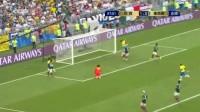 我在【全场集锦】内马尔菲尔米诺双响 桑巴军团2-0完胜墨西哥挺进8强截了一段小视频