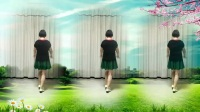 莲芳姐广场舞《你幸福我才快乐》32步