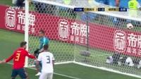 我在【回放】2018世界杯 1/8决赛 西班牙VS俄罗斯 上半场回放:又见乌龙!10分钟东道主送礼 久巴点球扳平比分截了一段小视频