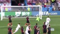 """我在【进球】完美开局!""""特氏弧线""""完美绕过人墙直挂死角 英格兰1-0领先截了一段小视频"""
