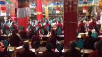 第三届藏传佛教比丘尼研讨会 02在青海苏曼萨扎尼寺7月12日圆满日 施身法十万颂