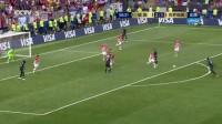 我在【进球】极速反击! 博格巴弧顶位置远射破门 法国3-1领先截了一段小视频