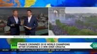 FIFA世界杯™俄罗斯2018 法国4-2战胜克罗地亚 时隔20年二度夺冠 姆巴佩荣获最佳年轻球员奖!莫德里奇荣获世界杯金球奖!