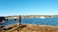 【磯釣】NO.15 徐小董 悉尼矶钓之 全游动钓组切换实战分析 sydney fishing