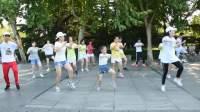 苏州漫步舞社舞蹈在新区公园