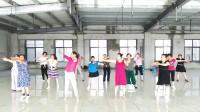 舞蹈《九儿》由陇县部分村领舞者训练