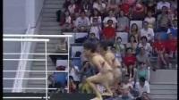 我在2008年北京第29届奥运会跳水女子双人10米台决赛等截了一段小视频