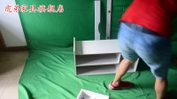 HD005换鞋凳安装教程