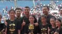 C罗来了:C罗为获胜球队颁奖 点赞中国小球员