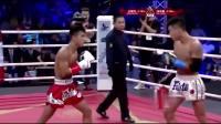 中国猛将铁拳猛攻不后退暴打小拳王