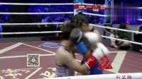 泰拳女王太抗揍铁拳对攻不后退,山东女将冲上去铁拳击腹踢软肋