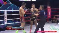 多次KO中国拳手的泰拳王遭中国小将重拳KO打出场外