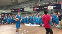 第六人路威现身中国青少年联赛 后仰投篮神准