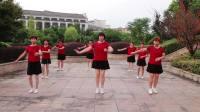 莲芳姐广场舞《花儿哪有阿妹俏》演示:团队