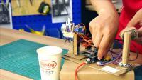 DFRobot FireBeetle 萤火虫机械臂应用