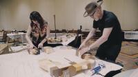 Assembling the 2,500 Piece 3D-Printed Sculpture