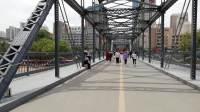 【兰州黄河铁桥(中山桥)】   带着妈妈步行游览兰州黄河铁桥  20180613_121559