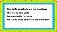 100-54 She sells seashells