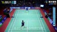 WANG Tzu Wei vs CHONG Wei Feng - Badminton All Stars Festival 2018