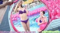2018圓山飯店 比基尼泳池派對 伊林Model 泳裝自拍 Bikini Pool Party
