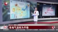 中秋假期·天气 各地气温较为平稳 东方大头条 180922