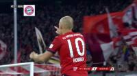 【进球】关键时刻看老汉!罗本调整爆射破门 拜仁1-0领先