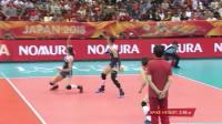 10月14日中国vs美国-女排世锦赛六强赛全场(现场原声)