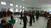 2018年10月14日参加朱河联谊会晓丽舞蹈队表演银色水兵舞