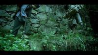 茶馬古道古代老人爬山走路草鞋