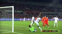 【进攻】着实令人揪心!哈达利门前抢点险些踢中颜骏凌头部 2018国际足联友谊赛 中国VS巴勒斯坦 1