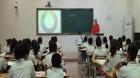 人教版五年級《色彩的對比》教學視頻-美術課題研討活動