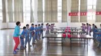 小学体育五年级《乒乓球推档技术》课堂教学视频实录-潘珍珍