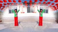 寒梅傲雪广场舞【猪年大吉】视频制作:龙虎影音