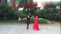 阳光美梅广场舞《月亮女神》花样式中三步