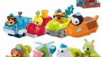 海底小纵队 亲子玩具视频之母鸡和蛇