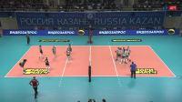 2019.04.17 喀山迪那摩 0-3 火车头 - 半决赛第2回合 - 201819俄罗斯女排超级联赛