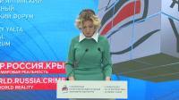 Еженедельный брифинг Марии Захаровой, Ялта [2019.04.18]