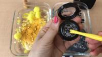 DIY手工制作自制的粘液史莱姆混合化妆品水晶泥彩泥玩具95