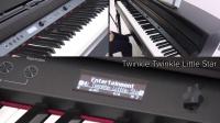 """[中字]""""供儿童练习用的便捷功能""""HP700系列数码钢琴 快速入门 #02"""