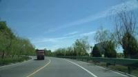 久违的蓝天白云,省道305上欣赏渭北最美的季节