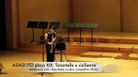 ASAGI ITO plays XIX. Tarantelle e sizilienne by S.Karg-Elert