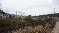 K943次 DF4B9477 通过金温铁路K66KM永康横麓村