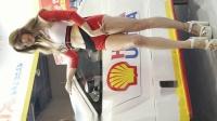 044. 4K 汽车展会车模Racing Model Kim Sihu