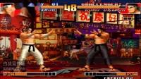 拳皇97:老K楼十大门1v1抢十,之前是一键岚之山,现在是声控的