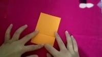有趣的手工折纸--薰衣草-书签-卡通笑脸