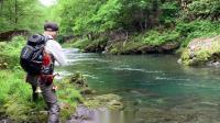 CASKET『NEWマークスパイダー -FLIPPING SPECIAL-』【北の大地の源流大岩魚釣行】 (試作ロッドテスト)