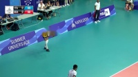 2019.07.09 世界大学生运动会女排1/4决赛 意大利 vs 巴西