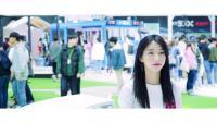 2019世界IT展월드IT쇼SK电讯【SK텔레콤】5G모델-林率雅【 임솔아 】