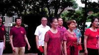 尧石二村社区唱响『我和我的祖国』